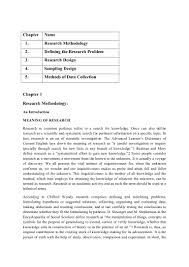 Design Research Meaning Basic Research Methodology Notes