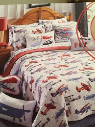 airplane bedding full on vintage airplanes duvet cover pottery barn kids regarding attractiv