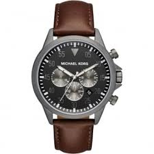 gunmetal michael kors watches