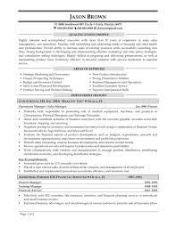 Sample Resume Of Sales Manager For Sales And Marketing Valid Sample