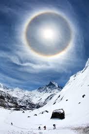 Light Around The Sun Halo Optical Phenomenon Wikipedia