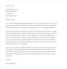 noise complaint letter templates sample example   sample noise complaint letter to appartment manager