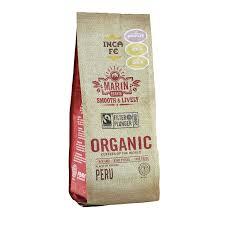 marin pasta works incafe marin estate smooth lively organic fair trade coffee