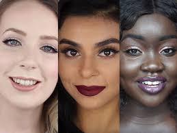 what rihanna s fenty beauty makeup looks like on diffe skin tones business insider