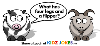 what has four legs and a flipper