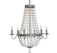 iron chandelier with wood beads antique farmhouse pertaining to wood and iron chandelier gallery