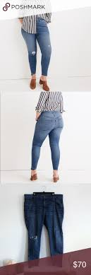 Madewell Jeans Size Chart Madewell 36p Curvy High Rise Skinny Jeans Size 36 Petite