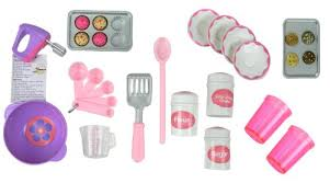 18 Inch Doll Baking Set of 26 Pcs Fits American Girl Doll