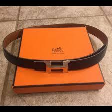Hermes Womens Double Sided Belt Size Xs