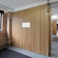 fluted panels feature wall singapore