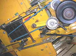 installation, repair and replacement of v belts on cub cadet Cub Cadet Wire Diagram for 2000 at Wiring Diagram Cub Cadet 1415
