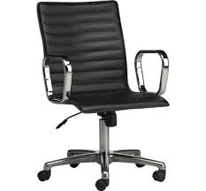 sleek office chairs. Ripple Back Leather Chair Sleek Office Chairs K