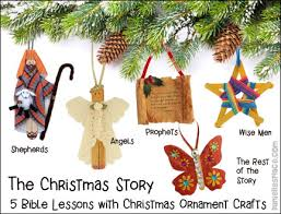 The Christmas Story Bible Lessons Series - Check out the free sample lesson  on www.