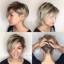 Pixie Cut With Undercut Design 50 Best Short Haircuts And Hairstyles For Fine Hair Hair
