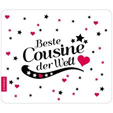 Mousepad Beste Cousine Motiv 6