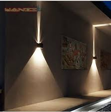ip65 cube adjule surface mounted outdoor led lighting 7w led outdoor wall light up down led