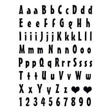 Písmena A číslice