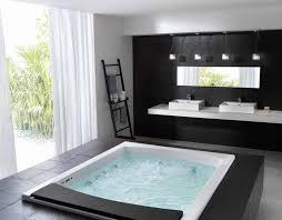 extra deep whirlpool bathtub. bathtubs idea, deep whirlpool freestanding tub styilsh black and white master bathroom with extra bathtub
