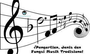 Pengertian seni musik adalah sebuah cabang seni yang mempunyai fokus menggunakan sebuah melodi, irama, harmoni, tempo, serta menggunakan sebuah vocal yang mempunyai peran sebagai sarana penyampaian perasaan sang seniman. Pengertian Jenis Dan Fungsi Musik Tradisional Secara Umum