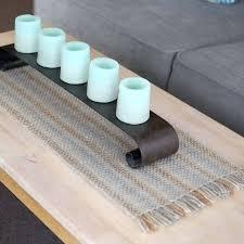 table runner length medium long length handwoven table runner in grey beige cream felt length of table runner length