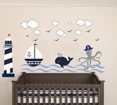 nautical theme the wonderful sea world sailor childrens room kids kids playroom wall decals