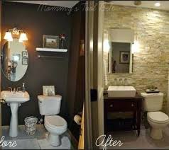half bathroom ideas brown. half bath ideas renovation bathroom home improvement for couples brown