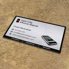 Looking For Several New Business Card Templates For Iphone Repair