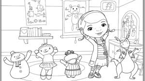 Doctor Mcstuffins Coloring Pages Motivate Search Results Doc