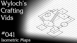 041 Isometric Maps Dungeons Dragons Pathfinder Etc Youtube