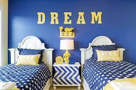 kids bedroom. View In Gallery All Blue Kids\u0027 Bedroom With A Chevron Pattern Bedside Table [Design: Echelon Interiors Kids
