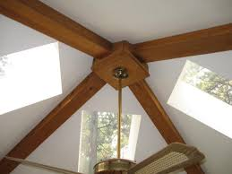 hanging a pendant light from center of vaulted ceiling canopy boxes 004