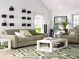 image of living room rug placement sectional