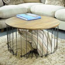 birdcage round storage coffee table by the orchard furniture outdoor original metal uk wood 840