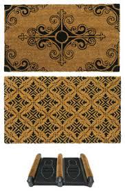 front door matsFrench Provincial Doormat Kit Set of 3  Mediterranean  Doormats
