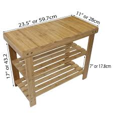 down under furniture. Down Under Bamboo Small Bench With Shoe Storage Furniture N