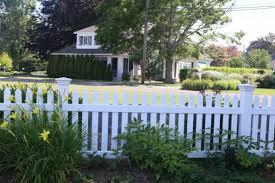 Vinyl Cape Cod Picket Fence Atlas Outdoor CT Fence Company