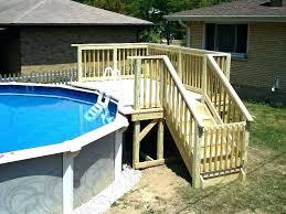 decks around above ground pools amazing landscaping around above ground pool simple landscaping gorgeous deck around