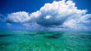 oceans capacity to control climate critical for extraterrestrial fluffy clouds over clear ocean 12522