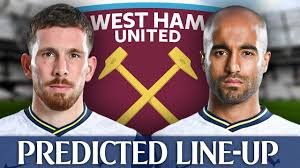 West Ham Vs Tottenham [PREDICTED LINE-UP] - YouTube
