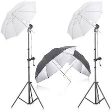 neewer photo studio continuous lighting umbrella kit with reflector umbrella for portrait photography studio recordi