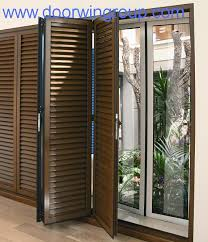 slatted doors. China Wood Aluminium Window Aluminum Supplier Beijing Slatted Doors