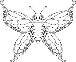 Small Picture Printable Coloring Pages Butterfly