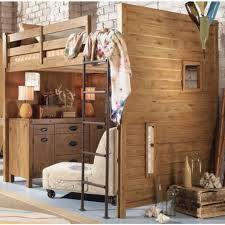 Furniture Ideas For Small Bedroom Design: Cool Small Brick Wall Bedroom  Design With Casual Wooden. Adult Loft BedAdult ...