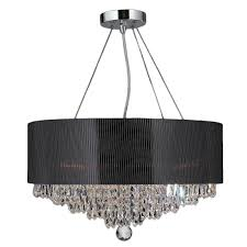 White fabric shade crystal modern drum Ceiling Shop Contemporary Modern 8light Chrome Finish And Crystal Ball Prism Medium 20inch Chandelier With Black Acrylic Drum Shade On Sale Free Shipping Overstock Shop Contemporary Modern 8light Chrome Finish And Crystal Ball