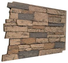 faux stone wall panels for sale