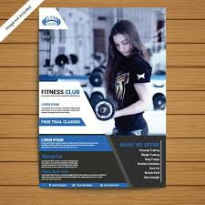 Gym Brochure Templates
