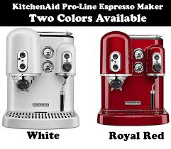 kitchenaid pro line series espresso maker