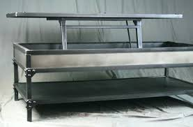lift top coffee tables all steel lift top coffee table with shelf steve silver nelson lift