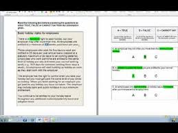 Survey Test Book Answers How To Answer Verbal Reasoning Tests Youtube