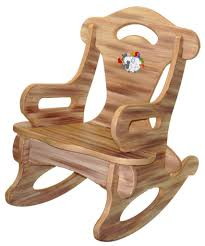Kids Bedroom Chair Furniture Small Wooden Kids Rocking Chair For Kids Bedroom